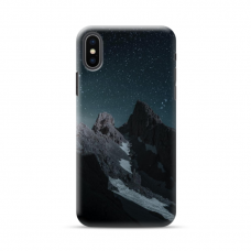 "TPU DĖKLAS UNIKALIU DIZAINU 1.0 mm ""U-CASE AIRSKIN MOUNTAINS 1 DESIGN"" IPHONE XR TELEFONUI"
