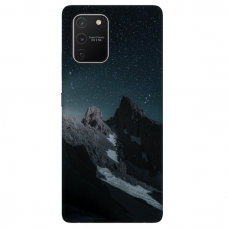 "Tpu Dėklas Unikaliu Dizainu 1.0 Mm ""U-Case Airskin Mountains 1 Design"" Samsung Galaxy S10 Lite Telefonui"