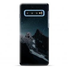 "Tpu Dėklas Unikaliu Dizainu 1.0 Mm ""U-Case Airskin Mountains 1 Design"" Samsung Galaxy S10 Telefonui"