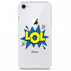 """Tpu Dėklas Unikaliu Dizainu 1.0 Mm """"U-Case Airskin Lol Design"""" Iphone 7 Plus / Iphone 8 Plus Telefonui"""