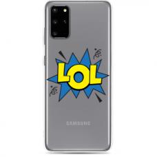 """Tpu Dėklas Unikaliu Dizainu 1.0 Mm """"U-Case Airskin Lol Design"""" Samsung Galaxy Note 10 Lite Telefonui"""