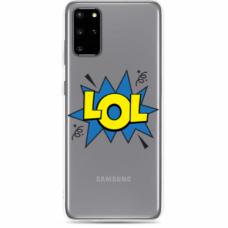 "Tpu Dėklas Unikaliu Dizainu 1.0 Mm ""U-Case Airskin Lol Design"" Samsung Galaxy S10 Lite Telefonui"