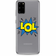 "Tpu Dėklas Unikaliu Dizainu 1.0 Mm ""U-Case Airskin Lol Design"" Samsung Galaxy S20 Telefonui"