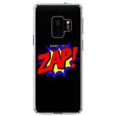 """Tpu Dėklas Unikaliu Dizainu 1.0 Mm """"U-Case Airskin Zap Design"""" Samsung Galaxy A8 2018 Telefonui"""