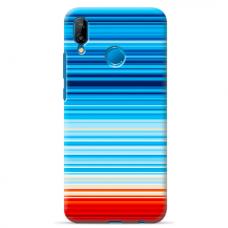 "Tpu Dėklas Unikaliu Dizainu 1.0 Mm ""U-Case Airskin Pattern 2 Design"" Huawei P20 Lite Telefonui"