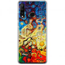 "Tpu Dėklas Unikaliu Dizainu 1.0 Mm ""U-Case Airskin Pattern 1 Design"" Huawei P40 Lite E Telefonui"