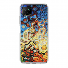 "Tpu Dėklas Unikaliu Dizainu 1.0 Mm ""U-Case Airskin Pattern 1 Design"" Huawei P40 Lite Telefonui"