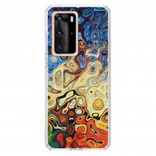 "Tpu Dėklas Unikaliu Dizainu 1.0 Mm ""U-Case Airskin Pattern 1 Design"" Huawei P40 Pro Telefonui"