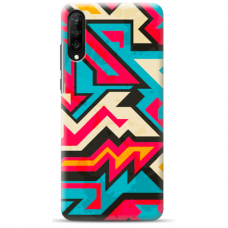"Tpu Dėklas Unikaliu Dizainu 1.0 Mm ""U-Case Airskin Pattern 7 Design"" Samsung Galaxy A7 2018 Telefonui"