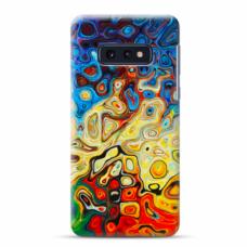 "Tpu Dėklas Unikaliu Dizainu 1.0 Mm ""U-Case Airskin Pattern 1 Design"" Samsung Galaxy S10E Telefonui"