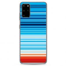 "Tpu Dėklas Unikaliu Dizainu 1.0 Mm ""U-Case Airskin Pattern 2 Design"" Samsung Galaxy S20 Telefonui"