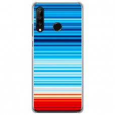 "Tpu Dėklas Unikaliu Dizainu 1.0 Mm ""U-Case Airskin Pattern 2 Design"" Huawei P40 Lite E Telefonui"