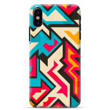 "Tpu Dėklas Unikaliu Dizainu 1.0 Mm ""U-Case Airskin Pattern 7 Design"" Iphone Xr Telefonui"