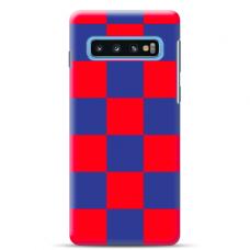 "Tpu Dėklas Unikaliu Dizainu 1.0 Mm ""U-Case Airskin Pattern 4 Design"" Samsung Galaxy S10 Telefonui"