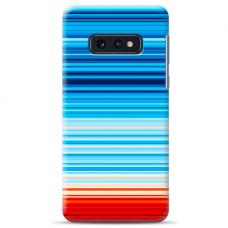 "Tpu Dėklas Unikaliu Dizainu 1.0 Mm ""U-Case Airskin Pattern 2 Design"" Samsung Galaxy S10E Telefonui"