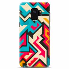 "Tpu Dėklas Unikaliu Dizainu 1.0 Mm ""U-Case Airskin Pattern 7 Design"" Samsung Galaxy S9 Telefonui"