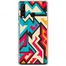 """Tpu Dėklas Unikaliu Dizainu 1.0 Mm """"U-Case Airskin Pattern 7 Design"""" Xiaomi Redmi Note 8 Telefonui"""