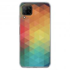 "Tpu Dėklas Unikaliu Dizainu 1.0 Mm ""U-Case Airskin Pattern 3 Design"" Huawei P40 Lite Telefonui"