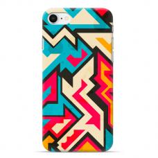 """Tpu Dėklas Unikaliu Dizainu 1.0 Mm """"U-Case Airskin Pattern 7 Design"""" Iphone 7 / Iphone 8 / Iphone Se 2020 Telefonui"""