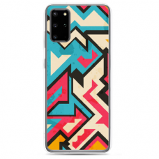 "Tpu Dėklas Unikaliu Dizainu 1.0 Mm ""U-Case Airskin Pattern 7 Design"" Samsung Galaxy S20 Fe Telefonui"
