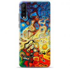 "Tpu Dėklas Unikaliu Dizainu 1.0 Mm ""U-Case Airskin Pattern 1 Design"" Samsung Galaxy A7 2018 Telefonui"