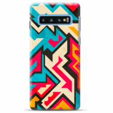 "Tpu Dėklas Unikaliu Dizainu 1.0 Mm ""U-Case Airskin Pattern 7 Design"" Samsung Galaxy S10 Plus Telefonui"