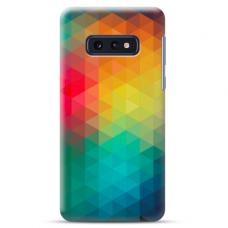 "Tpu Dėklas Unikaliu Dizainu 1.0 Mm ""U-Case Airskin Pattern 3 Design"" Samsung Galaxy S10E Telefonui"
