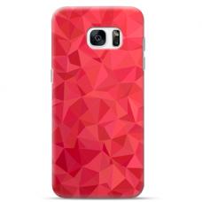 "Tpu Dėklas Unikaliu Dizainu 1.0 Mm ""U-Case Airskin Pattern 6 Design"" Samsung Galaxy S6 Edge Telefonui"