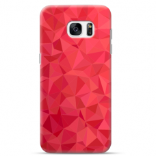 "Tpu Dėklas Unikaliu Dizainu 1.0 Mm ""U-Case Airskin Pattern 6 Design"" Samsung Galaxy S7 Edge Telefonui"