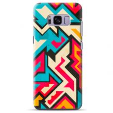 "Tpu Dėklas Unikaliu Dizainu 1.0 Mm ""U-Case Airskin Pattern 7 Design"" Samsung Galaxy S8 Telefonui"