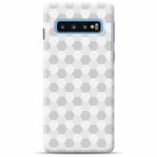 "Tpu Dėklas Unikaliu Dizainu 1.0 Mm ""U-Case Airskin Pattern 5 Design"" Samsung Galaxy S10 Plus Telefonui"