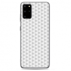 "Tpu Dėklas Unikaliu Dizainu 1.0 Mm ""U-Case Airskin Pattern 5 Design"" Samsung Galaxy S20 Telefonui"