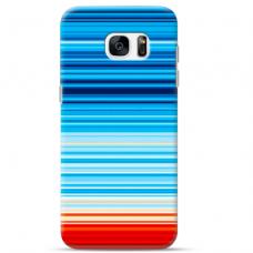 "Tpu Dėklas Unikaliu Dizainu 1.0 Mm ""U-Case Airskin Pattern 2 Design"" Samsung Galaxy S7 Edge Telefonui"