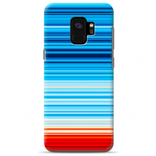 "Tpu Dėklas Unikaliu Dizainu 1.0 Mm ""U-Case Airskin Pattern 2 Design"" Samsung Galaxy S9 Telefonui"