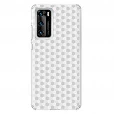 "Tpu Dėklas Unikaliu Dizainu 1.0 Mm ""U-Case Airskin Pattern 5 Design"" Huawei P40 Telefonui"