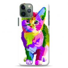 "Tpu Dėklas Unikaliu Dizainu 1.0 Mm ""U-Case Airskin Kitty Design"" Iphone 11 Pro Telefonui"