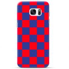"Tpu Dėklas Unikaliu Dizainu 1.0 Mm ""U-Case Airskin Pattern 4 Design"" Samsung Galaxy S7 Edge Telefonui"