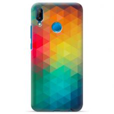 "Tpu Dėklas Unikaliu Dizainu 1.0 Mm ""U-Case Airskin Pattern 3 Design"" Huawei P20 Lite Telefonui"