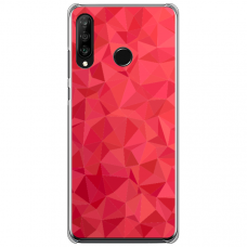 "Tpu Dėklas Unikaliu Dizainu 1.0 Mm ""U-Case Airskin Pattern 6 Design"" Huawei P40 Lite E Telefonui"