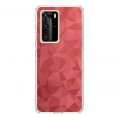"Tpu Dėklas Unikaliu Dizainu 1.0 Mm ""U-Case Airskin Pattern 6 Design"" Huawei P40 Pro Telefonui"