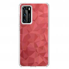 "Tpu Dėklas Unikaliu Dizainu 1.0 Mm ""U-Case Airskin Pattern 6 Design"" Huawei P40 Telefonui"