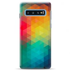 "Tpu Dėklas Unikaliu Dizainu 1.0 Mm ""U-Case Airskin Pattern 3 Design"" Samsung Galaxy S10 Plus Telefonui"