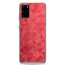 "Tpu Dėklas Unikaliu Dizainu 1.0 Mm ""U-Case Airskin Pattern 6 Design"" Samsung Galaxy S20 Plus Telefonui"