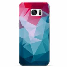 "Tpu Dėklas Unikaliu Dizainu 1.0 Mm ""U-Case Airskin Pattern 8 Design"" Samsung Galaxy S7 Edge Telefonui"
