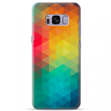 "Tpu Dėklas Unikaliu Dizainu 1.0 Mm ""U-Case Airskin Pattern 3 Design"" Samsung Galaxy S8 Telefonui"