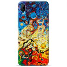 "Tpu Dėklas Unikaliu Dizainu 1.0 Mm ""U-Case Airskin Pattern 1 Design"" Huawei P Smart 2019 Telefonui"