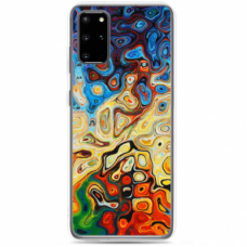 "Tpu Dėklas Unikaliu Dizainu 1.0 Mm ""U-Case Airskin Pattern 1 Design"" Samsung Galaxy S20 Fe Telefonui"