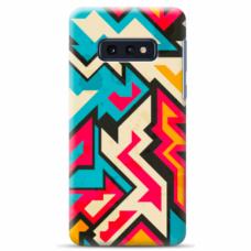 "Tpu Dėklas Unikaliu Dizainu 1.0 Mm ""U-Case Airskin Pattern 7 Design"" Samsung Galaxy S10E Telefonui"