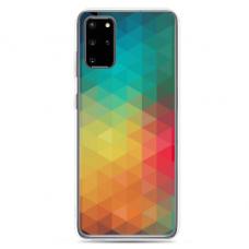 "Tpu Dėklas Unikaliu Dizainu 1.0 Mm ""U-Case Airskin Pattern 3 Design"" Samsung Galaxy S20 Plus Telefonui"