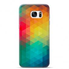"Tpu Dėklas Unikaliu Dizainu 1.0 Mm ""U-Case Airskin Pattern 3 Design"" Samsung Galaxy S6 Edge Telefonui"